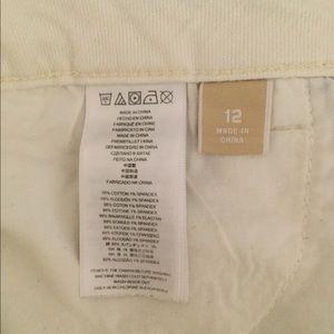 Michael Kors Jeans - Michael Kors Ivory jeans Size 12